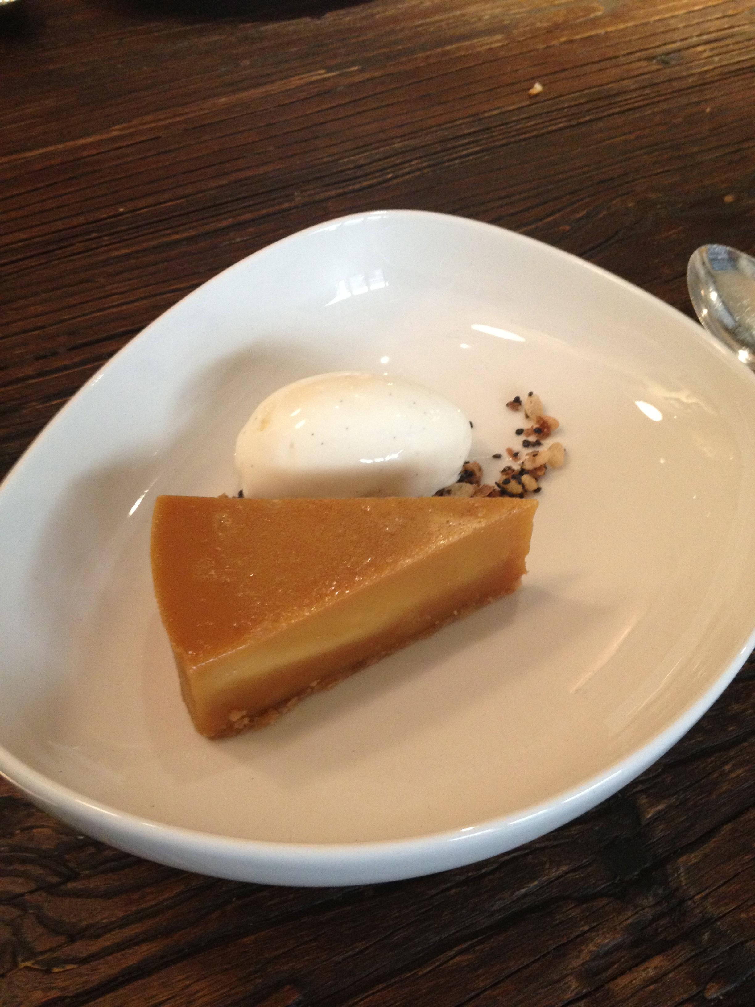 Little Social: Brown Sugar Tart