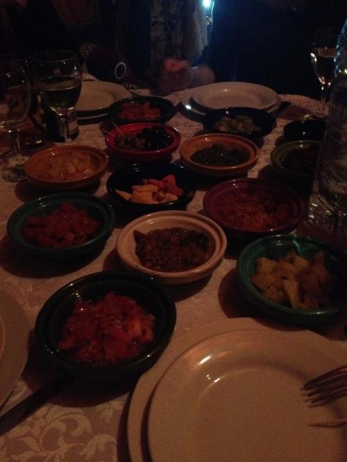 Dar Nejjarine: Moroccan Salads