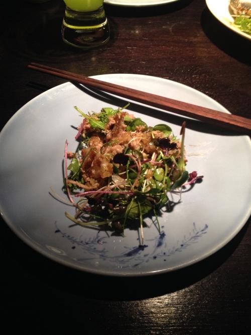 Hakkasan: Crispy Duck Salad